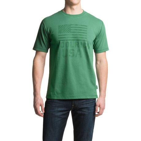 Woolrich First Forks Graphic T-Shirt - Short Sleeve (For Men)