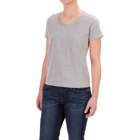 Toad&Co Baby French Terry T-Shirt - Organic Cotton, Short Sleeve (For Women)