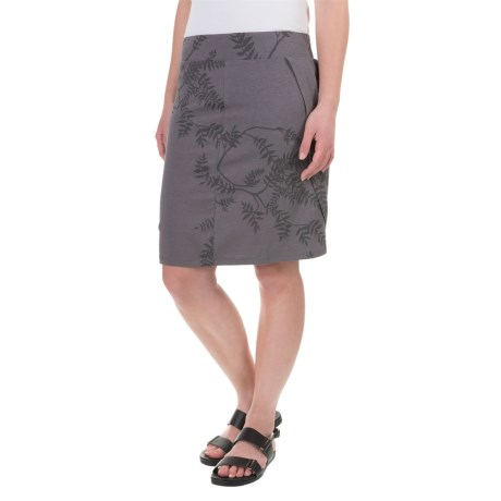 Toad&Co Adella Pleated Draped Skirt - Organic Cotton-Modal Blend, Knee Length (For Women)