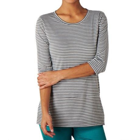 Toad&Co Ursa Pocketed Tunic Shirt - Organic Cotton, 3/4 Sleeve (For Women)