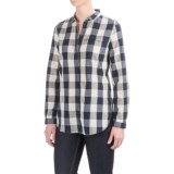 Woolrich Chambray Stag Buffalo Check Shirt - Snap Front, Long Sleeve (For Women)
