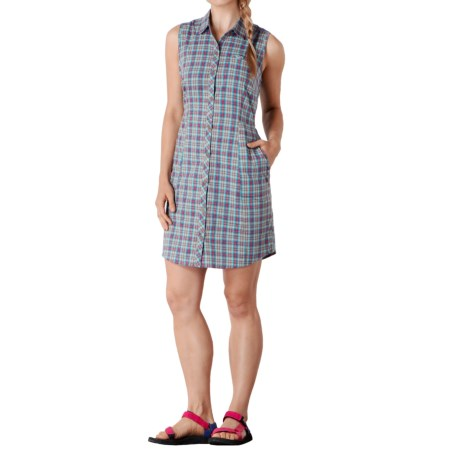 Toad&Co Maneuver Shirtdress - Organic Cotton, Sleeveless (For Women)