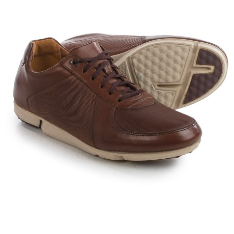 Clarks Triturn Race Sneakers - Leather (For Men)