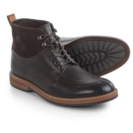 Clarks Pitney Hi Boots - Leather (For Men)