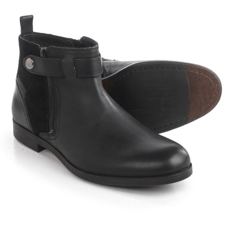 Clarks Brocton Mid Boots - Leather (For Men)