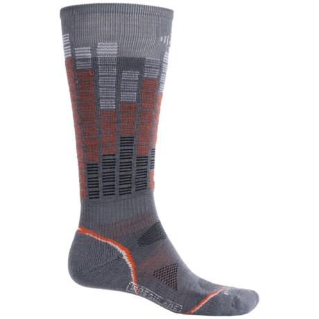 SmartWool PhD Snowboard Pattern Socks - Merino Wool, Over the Calf (For Men and Women)