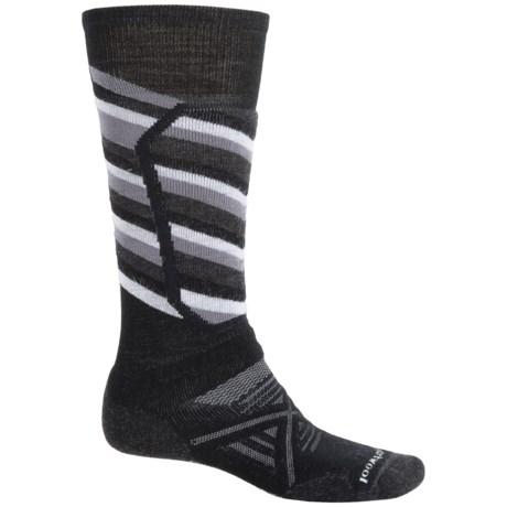 SmartWool PhD Ski Medium Socks - Merino Wool, Over the Calf (For Men)