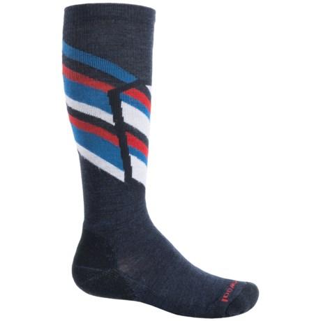 SmartWool Ski Racer Socks - Merino Wool, Over the Calf (For Big Kids)