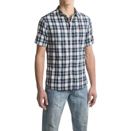 JACHS NY J.A.C.H.S. Plaid Shirt - Short Sleeve (For Men)