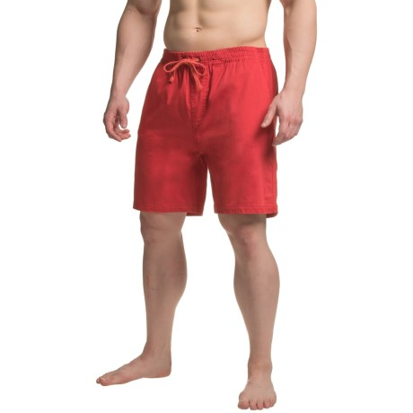 JACHS NY J.A.C.H.S. Twill Shorts - Stretch Cotton (For Men)