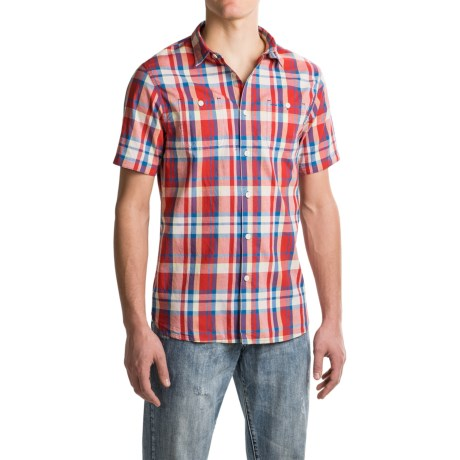 JACHS NY J.A.C.H.S. Plaid Shirt - Short Sleeve (For Men)