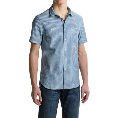 JACHS NY J.A.C.H.S. Double-Pocket Workwear Shirt - Short Sleeve (For Men)