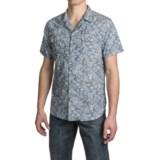 JACHS NY Cuban Body Double-Pocket Floral Shirt - Cotton, Short Sleeve (For Men)