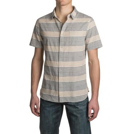 JACHS NY Spread Collar Shirt - Cotton, Short Sleeve (For Men)