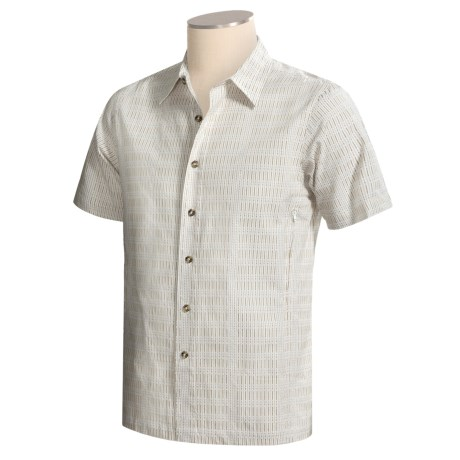 Royal Robbins Ben Cotton Shirt - Short Sleeve (For Men)