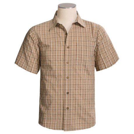 Royal Robbins Jasper Shirt - Organic Cotton-Rich, Short Sleeve (For Men)
