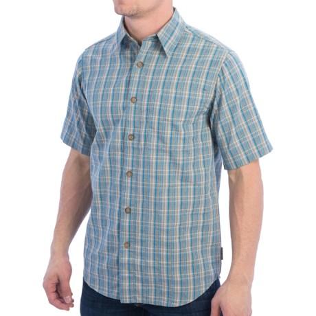 Royal Robbins Jasper Shirt - Organic Cotton-Rich, Short Sleeve (For Men)