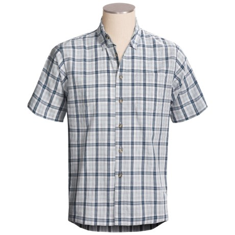Royal Robbins Judson Plaid Shirt - Cotton, Short Sleeve (For Men)