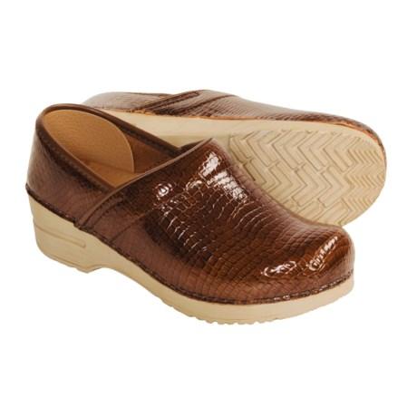 Sanita Professional Croco Clogs - Leather (For Women)