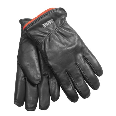 Auclair Cowhide Chore Gloves - Removable Pile Liner (For Men)