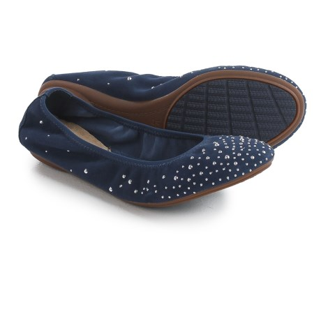 Hush Puppies Lolly Chaste Flats - Suede (For Women)