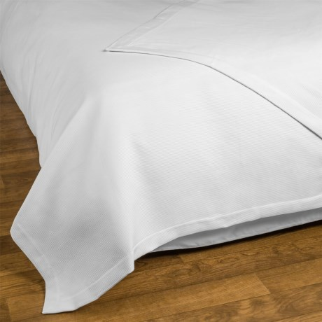 Allegria Fine Linens Ribbed Coverlet - Queen