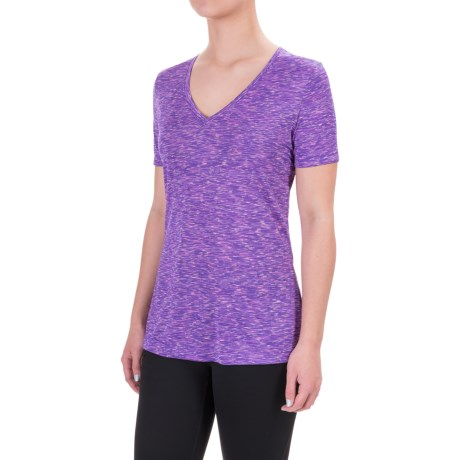 Spalding Galaxy Space-Dyed T-Shirt - Short Sleeve (For Women)