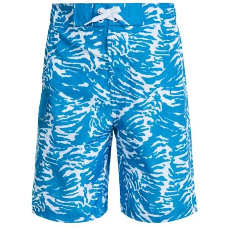 Lucky Brand Batik Boardshorts (For Big Boys)