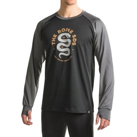 Rome Mountain Weight Any Means Base Layer Top - Long Sleeve (For Men)