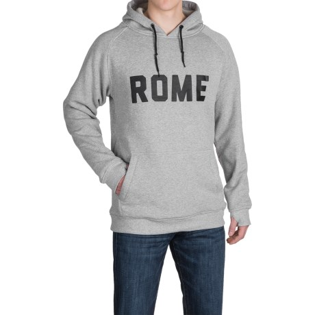 Rome Riding Hoodie - Windproof (For Men)