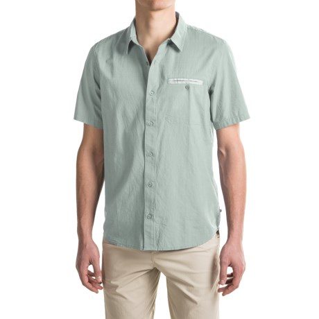 Toad&Co Huckleberry Shirt - Organic Cotton, Short Sleeve (For Men)