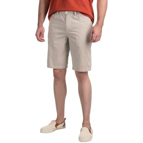 Toad&Co Seersucka Shorts - Organic Cotton (For Men)