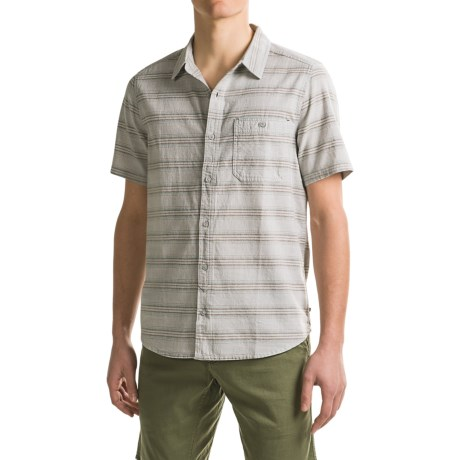 Toad&Co Hardscape Shirt - Organic Cotton, Short Sleeve (For Men)