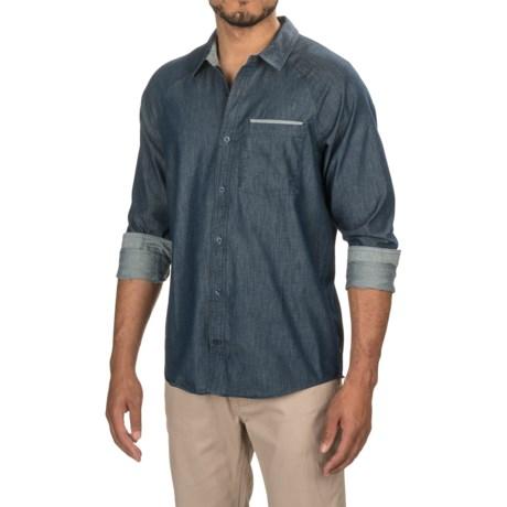 Toad&Co Yonder Neo-Denim Shirt - Organic Cotton Blend, Long Sleeve (For Men)