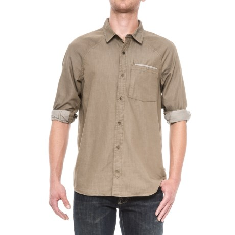 Toad&Co Yonder Neo-Denim Shirt - Organic Cotton Blend, Long Sleeve (For Men)