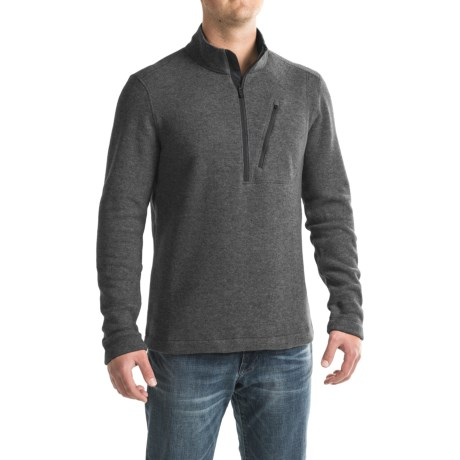 Toad&Co Outbound Fleece Shirt - Zip Neck, Long Sleeve (For Men)