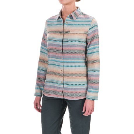 Woolrich First Light Striped Jacquard Shirt - Long Sleeve (For Women)