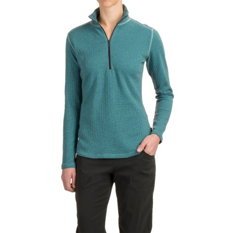 Woolrich Canoe Run Shirt - Zip Neck, Long Sleeve (For Women)