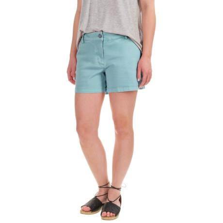 Artisan NY Stretch Twill Shorts (For Women)