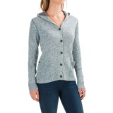 Woolrich Tanglewood Cardigan Hoodie Sweater (For Women)