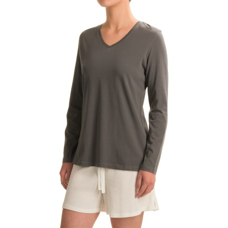 Woolrich Sprinkles V-Neck T-Shirt - Long Sleeve (For Women)