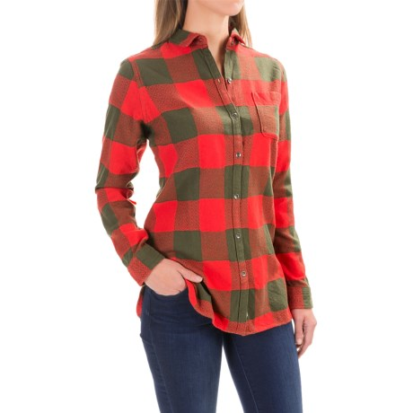 Woolrich Oxbow Bend Flannel Tunic Shirt - Long Sleeve (For Women)