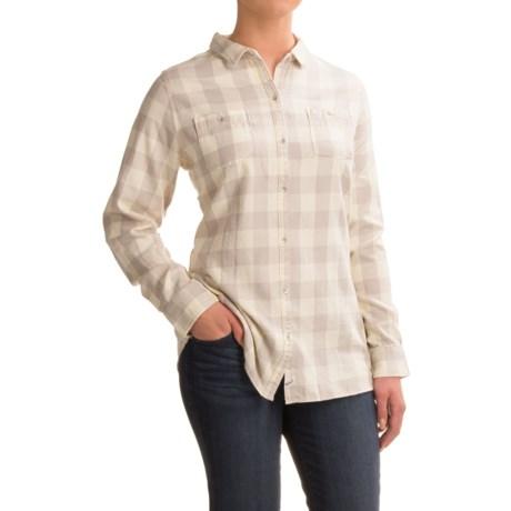 Woolrich Pemberton Buffalo Check Flannel Shirt - Long Sleeve (For Women)