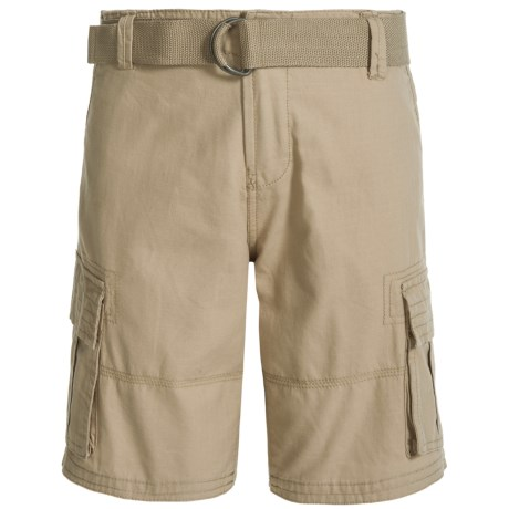 Specially made Belted Cargo Shorts (For Big Boys)