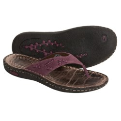 Keen Bree Thong Sandals - Nubuck Leather (For Women)