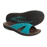 Keen Bree Nubuck Leather Sandals - Cross Slides (For Women)