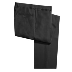 Riviera Wool Nano Flat Front Gabardine Pants (For Men)