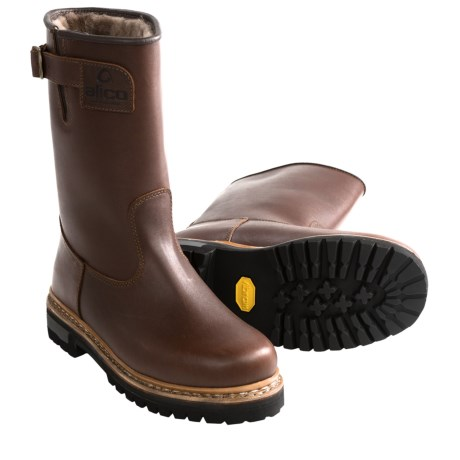 Alico Made in Italy North Cape Wellington Boots - Shearling Lining (For Men)
