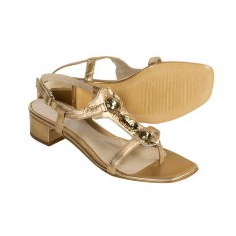 Aquatalia by Marvin K. Gem Leather Sandals - Thongs (For Women)