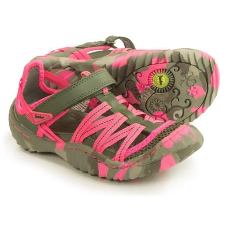 Jambu Dusk Fisherman Sandals (For Little and Big Girls)
